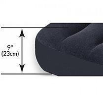Черный надувной матрас Intex 66768 с подголовником, фото 3