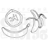 """ФП штамп """"Бананы"""""""