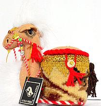 """Сувенир """"Верблюд с круглой шкатулкой"""""""