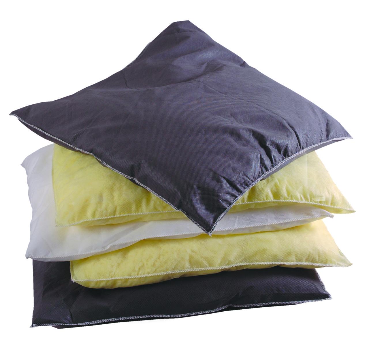 Подушки для поглощения нефтепродуктов, технических и химических жидкостей.