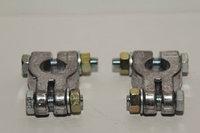 Клемма АКБ универсальная, с цветн. маркировкой полярности,крепл, спец свинцовый сплав,