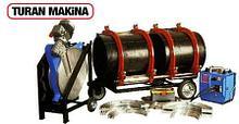 Стыковая сварка пластиковых труб Turan Makina