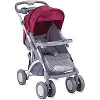Коляска Bertoni APOLLO + сумка для мамы Grey-Pink Girl, фото 1
