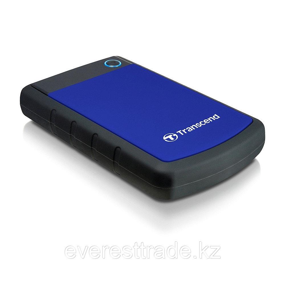 Внешний жесткий диск Transcend StoreJet 25H3 TS1TSJ25H3B, 1000Гб, USB 3.0, 2.5
