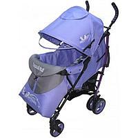 Коляска Bambini Shuttle + накидка на ножки Violet Butterfly, фото 1