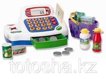 Keenway Кассовый аппарат белый , с предметами ( свет,звук )