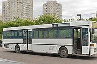 Развозка рабочих на городском автобусе
