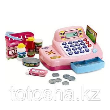 Keenway Кассовый аппарат розовый , с предметами ( свет,звук )