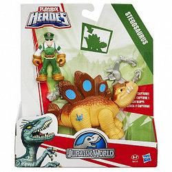 """PLA HR Набор """"Игровые динозавры JW с человеком"""" в асс."""