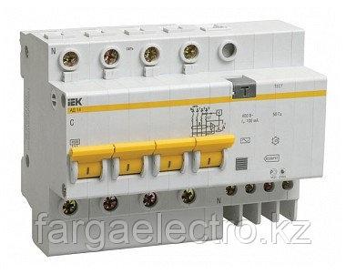 Автоматические выключатели УЗО АД-14  (4ф) 50А, 30мА