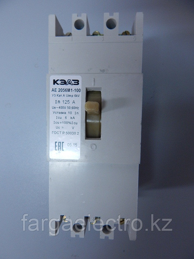Автоматический выключатель АЕ 2066М1-100(160А)