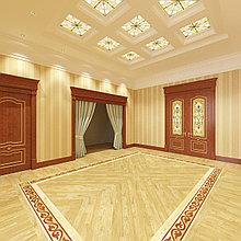 Дизайн-проект холла в классическом исполнении