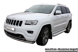 Защита передняя двойная D 60,3/60,3 Jeep Grand Cherokee 2013-