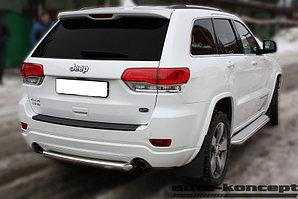 Защита задняя короткая D60,3  Jeep Grand Cherokee 2013-