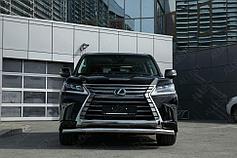 Обвес, защита бамперов, порогов из нержавеющей стали Lexus LX 450d/LX 570 2015- (кроме F-Sport)