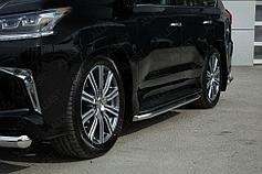 Пороги, подножки Lexus LX 450d/LX 570 2015- (кроме F-Sport)
