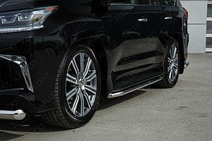 Защита порогов D 50,8 Lexus LX 450d/LX 570 2015-