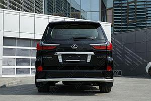 Защита задняя D 76,1 Lexus LX 450d/LX 570 2015-