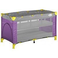 Кровать-манеж Bertoni Zippy Фиолетово-серый