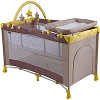 Кровать-манеж Bertoni Penny Plus Бежевый