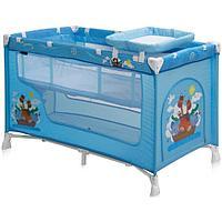 Кровать-манеж Bertoni Nanny 2 Голубой