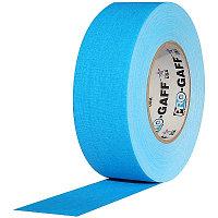 Pro Gaff FL46050B гаффер тэйп флуоресцентный голубой