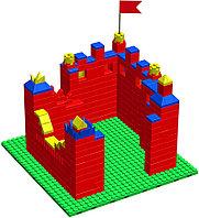 Конструктор GB 5 Крепость размер S гп225551