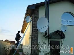 Ремонт спутниковых антенн