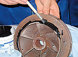 Жидкий металлополимер наполненный сталью, износоустойчивый WEICON-WR (500 гр), фото 3