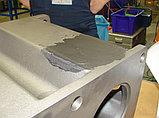 Пастообразный металлополимер наполненный минералами, износоустойчивый WEICON-WR2 (500 гр), фото 2