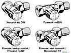 Настраеваемый запорный клапан V2420 Verafix–E, фото 5