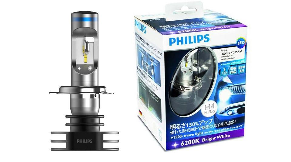 Светодиодные лампы H4 Philips X-Treme Ultinon