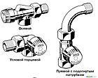 Ручной радиаторный клапан V310 серия VENUS, фото 2