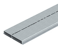 Кабель-канал для заливки в стяжку EUK 2000x190x28 мм (сталь) S2 19028