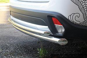 Защита задняя двойная D 60,3/42,4 Mitsubishi Outlander 2015-