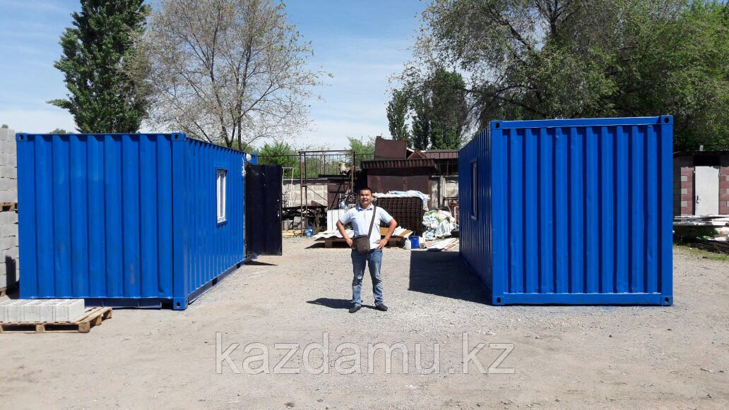 Утепленный контейнер в Алматы