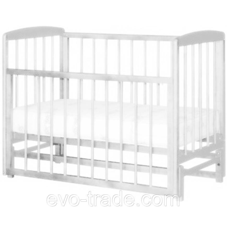 Кроватка Дарья Белый