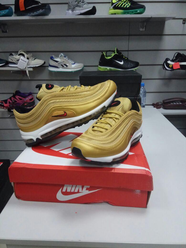 Кроссовки Nike Air Max 97 Gold - фото 1