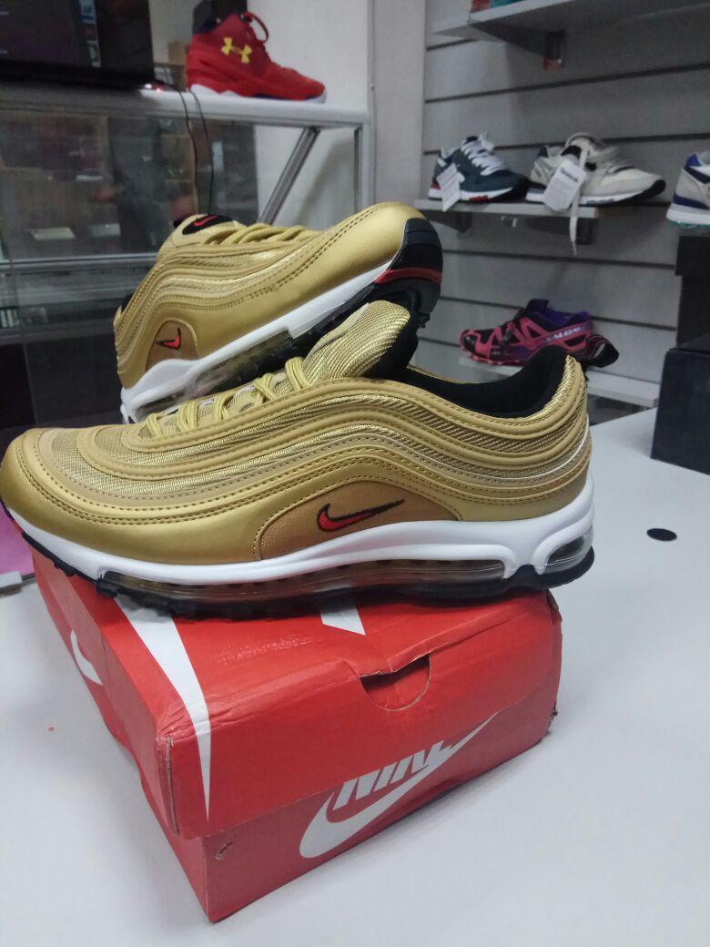 Кроссовки Nike Air Max 97 Gold - фото 2