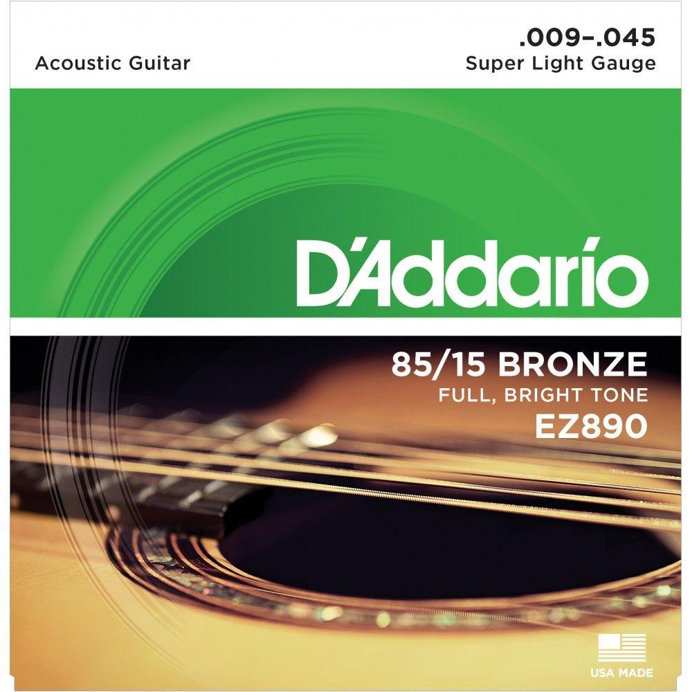 Струны для акустической  гитары Daddario EZ 890