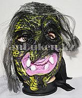 Маска для Хэллоуина Ведьма (желтая)