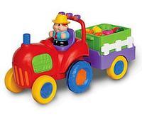 Музыкальный трактор с овощами Kiddieland