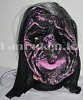 Маска для Хэллоуина Ведьма (розовая)