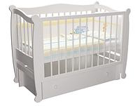 Детская кроватка Алиса, с ящиком