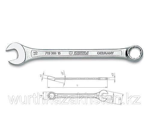 Рожково- накидной ключ ZEBRA SW 23