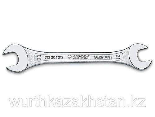 Двустороний рожковый ключ 22х24