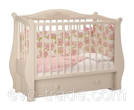 """Детская кроватка """"Джульетта"""", с ящиком"""