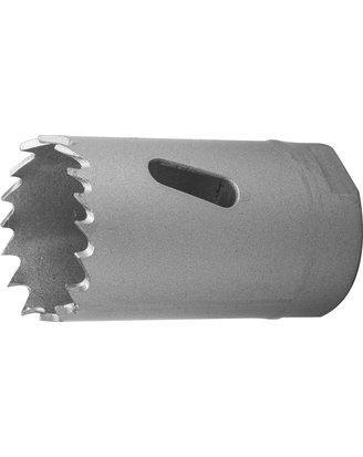 Коронка биметаллическая, быстрорежущая сталь, глубина сверления до 38мм, d-30мм, ЗУБР