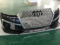 Передний бампер RS для Audi Q7 2015+