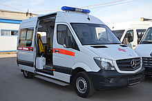 Реанимобиль   на базе Mercedes-Benz CDI Sprinter